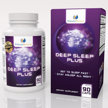 Deep Sleep Plus Natural Sleep Aid by Welcome Recovery