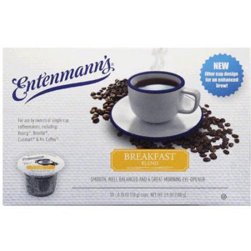 Entenmann's Breakfast Blend Single Serve Coffee Cups, 3.5 oz, (Pack of 4)