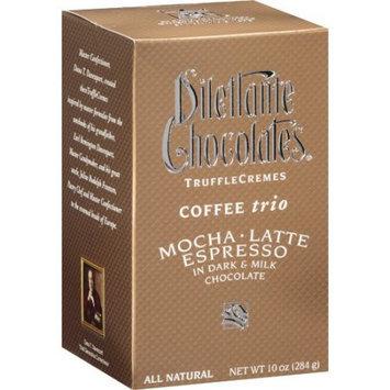 Dilettante Coffee Trio Truffle Cremes - 10 oz Gift Box