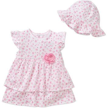 born Girl 2pc Dress and Sunhat Set