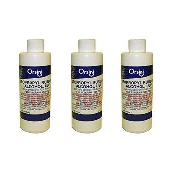 Orsini First Aid Antiseptic Isopropyl Rubbing Alcohol, 70% USP 4 Oz (3 Pack)