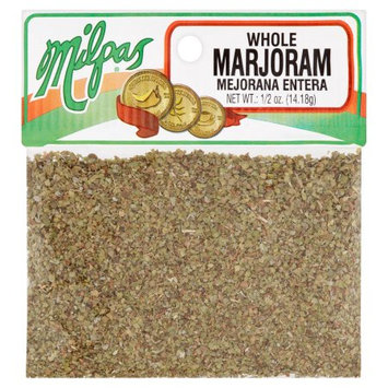 Milpas Foods Milpas Whole Marjoram, 1/2 oz