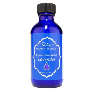Organic Lavender Oil Essential Oil, Pesticide & Herbicide Free Talia Organics 60 ml Oil