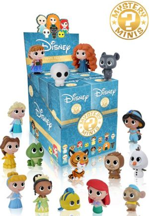 DISNEY PRINCESS - 1 figure by FUNKO MYSTERY MINI