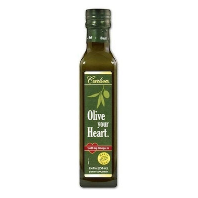 Olive your Heart Basil Carlson Laboratories 250 ml Liquid