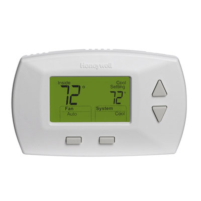 Honeywell Rectangle Electronic Non-Programmable Thermostat RTHL3550D1006