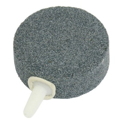 Fish Tank 3mm Dia Outlet Bubble Release Air Stone Gray