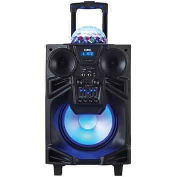 Naxa Electronics Naxa NDS-1001 10 in. Portable DJ-PA Speaker with Bluetooth & Disco Dome Light