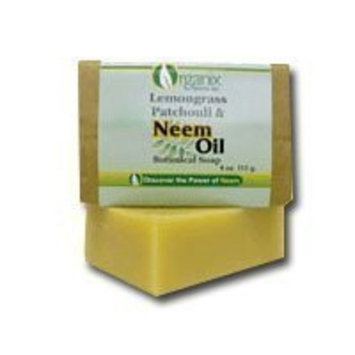 TheraNeem - Lemongrass Patchouli & Neem Oil Soap - 4oz
