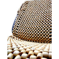 All-natural Premium Wood Bead Massage Seat Cover Cushion Auto Car & Office Chair