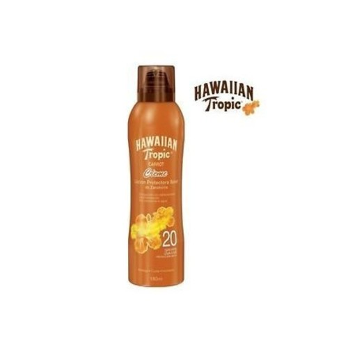Hawaiian Tropic Carrot Protector Solar Factor Creme ~ SPF 20 Sunscreen Aerosol Cream Lotion 6oz (Quantity 1)