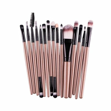 Cosmetics Tool 15 pcs Makeup Brush Foundation Brush Eyeshadow Brushes Beauty Brush Lip Brush (G