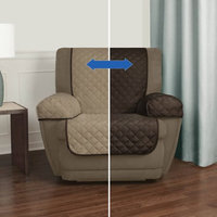 Maytex Mills Mainstays Reversible Microfiber Fabric Pet/Furniture Recliner Chair Cover
