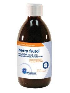 Pharmax Berry Frutol Emulsified Pure Fish Oil, 300mL