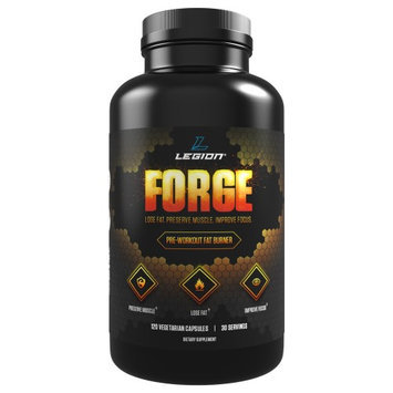 Legion Athletics LEGION FORGE Pre-Workout Fat Burner Supplement for Losing Fat, Preserving Muscle, and Energizing You