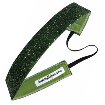 Sweaty Bands Viva Diva Headband, Lime Green Sparkle, 1-Inch