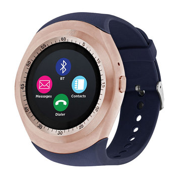 Itouch Unisex Blue Smart Watch-Itr4360rg788-007