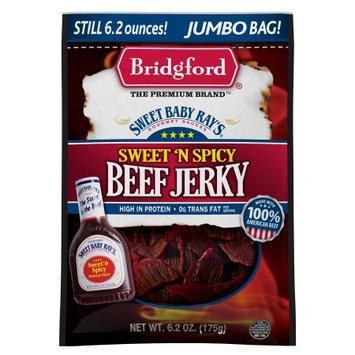 Bridgford Foods Sweet Baby Ray's Sweet n Spicy Beef Jerky, 6.2 oz.