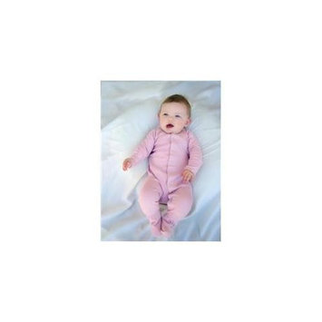 Lovedbaby OR444m-nb Organic Gloved-Sleeve Overall Mauve Newborn