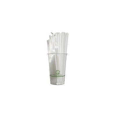 World Centric Compostable/Biodegradable Straw - Wrapped - 10,000 ct.