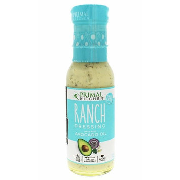 Primal Kitchen, Ranch Dressing, Made with 100% Avocado Oil, Size - 8 FZ, Quantity | Pack of 3 [Ranch]