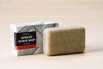 Apricot Scrub Soap Maroma 150 g Bar Soap