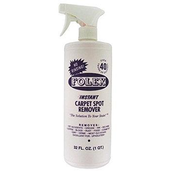 Folex Professional Carpet Spot Remover, No Rinsing (34 oz - Pack of 2)