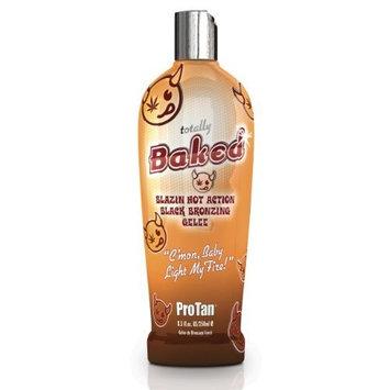 Pro Tan TOTALLY BAKED Blazin Hot Black Instant Bronzing Gelee Tanning Lotion 8.5 oz.