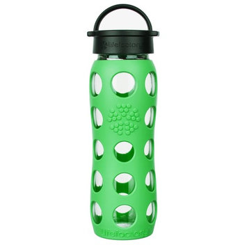 Glass Water Bottle with Classic Cap and Silicone Sleeve Core 2.0 Moss - 22 fl. oz.