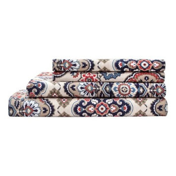 Ethania Cotton Printed Sheet Set 300 Thread Count