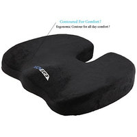 Premium Seat Cushion Orthopedic Gel Enhanced by Techege Comfort Memory Foam Grade A Cooling Coccyx Tailbone Wheelchair Back pain Comfortable Non-Slip Chair/Seat Cushion