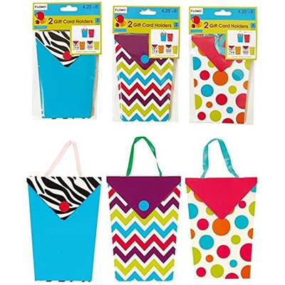 Flomo Mother's Day Embellished Gift Card Holders - 2 Pack(pack Of 36)