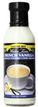Walden farms calorie free Coffee Creamer Vanilla 12 oz
