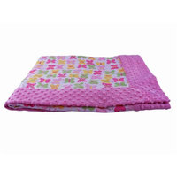 Blue Baby Bum 710560426119 Forever Baby Blanket Butterflies One Size - Pink & White