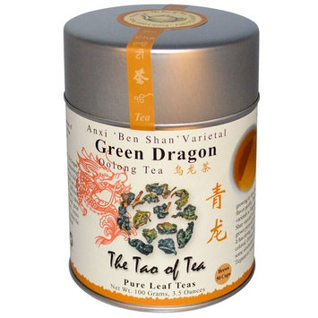 The Tao of Tea, Oolong Tea, Green Dragon, 3.5 oz (100 g) [Flavor : Green Dragon]