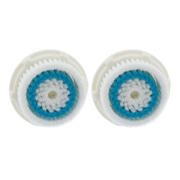 2-Pack Deep Pore Facial Cleansing Brush Heads for Clarisonic Mia 2 Pro