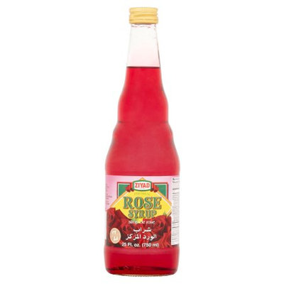 Ziyad Brothers Importing Ziyad, Syrup Rose Flavor, 27 Oz (Pack Of 12)
