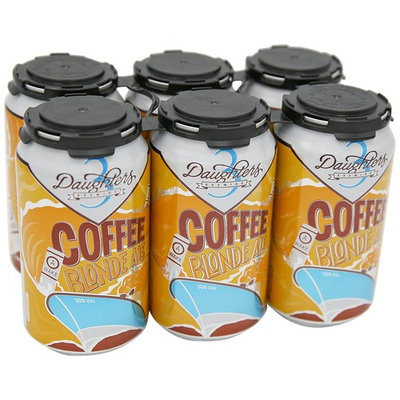 3 Daughters A-Wake Coffee Blonde 5.0% ABV, 12 oz cans, 6 pk