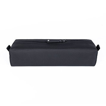 Comfyable Mini Toiletry Bag for Men, Water-Resistant Small Toiletry Bag, Pencil Case, Essentials Bag, Dopp Kit Bag for Electronics, Tech, Gym, Black