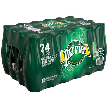 PERRIER Sparkling Mineral Water, 16.9 Fl Oz., (3 Cases of 24 Bottles)