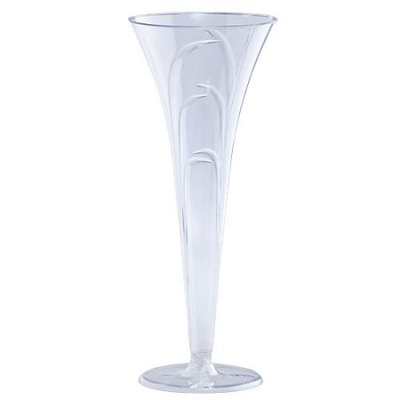 King Zak Ind Lillian Tablesettings 13250 Elegance Champagne Flutes Specialty Cups - 96 Per Case