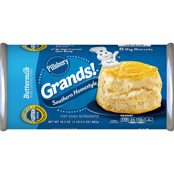 Pillsbury Grands!, Southern Homestyle, Buttermilk, 8 Biscuits, 16 oz. Can