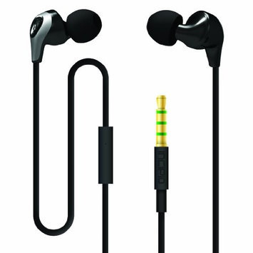 Incipio Technologies Incipio NX-314 F99 3.5mm Stereo Earbuds Black / Grey