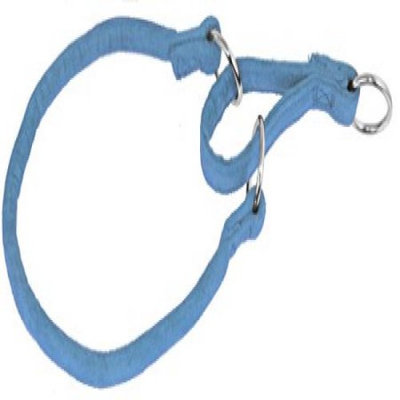 Dogline M8303-2 20 ft. L x 0. 38 W inch Comfort Microfiber Round Martingale Collar, Blue