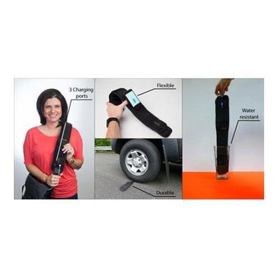 Vorbeck Vor-Power Flexible Battery Straps for Cell phones, Tablets, Cameras, E-readers, and more.