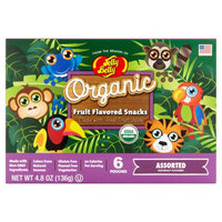Jelly Belly Candy Company Jelly Belly Organic Assorted Fruit Flavored Snacks, 6 count, 4.8 oz