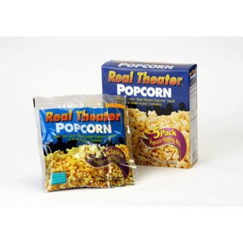 Real Theater All Inclusive Popcorn Popping Kits 27.5 Ounce box (Pack of 4)