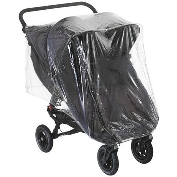 Baby Jogger City Mini Twin Raincover 2012 in Clear