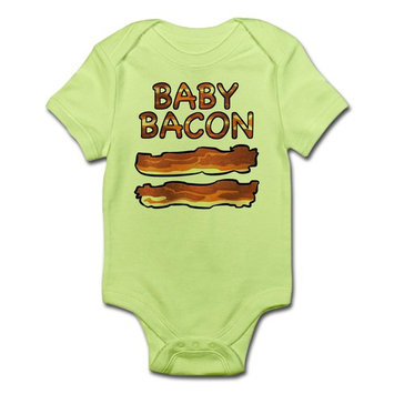 CafePress - Baby Bacon Infant Bodysuit - Baby Light Bodysuit