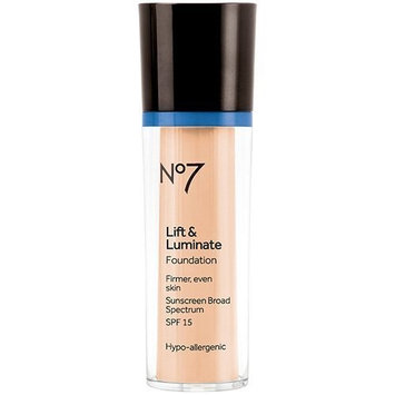 BOOTS No7 Lift & Luminate Foundation Wheat (SPF15) by Boots by Boots No7